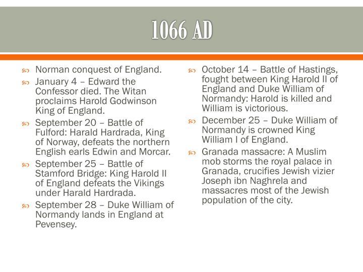 1066 AD