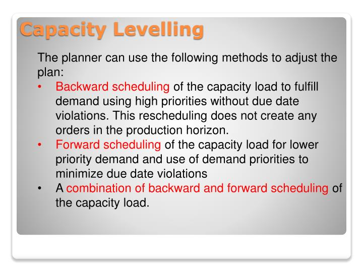The planner can use the following methods to adjust the plan: