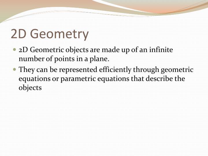 2D Geometry