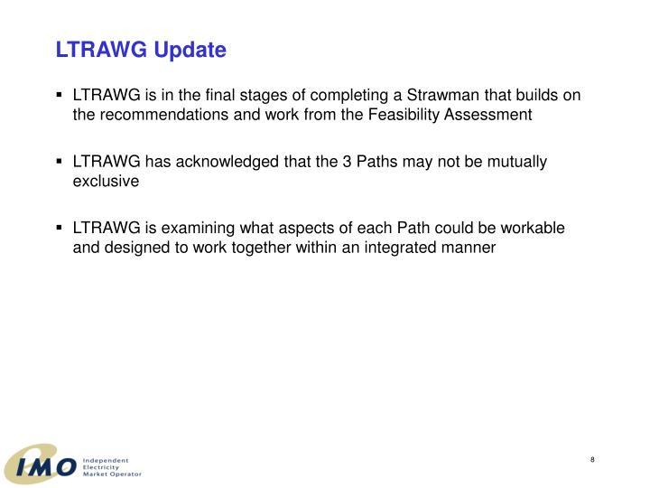 LTRAWG Update