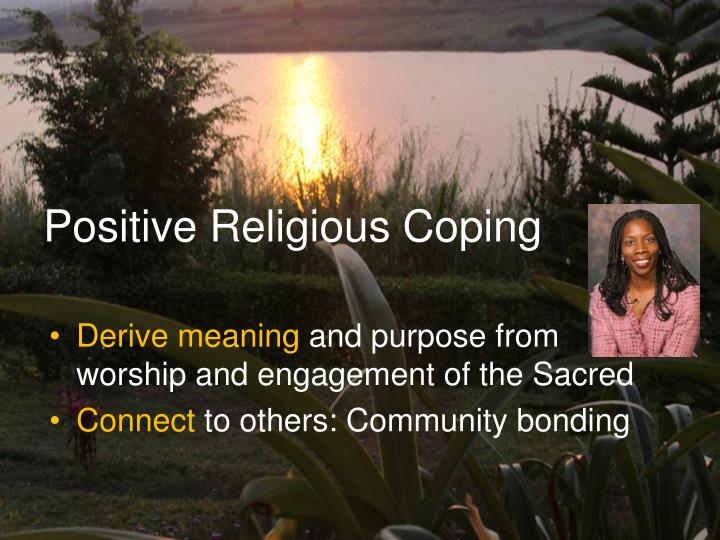 Positive Religious Coping