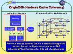 origin2000 hardware cache coherency