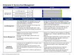 dimension 5 service cost management