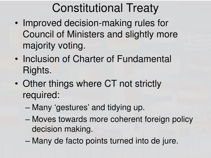 Constitutional Treaty
