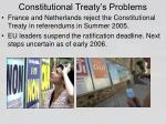constitutional treaty s problems
