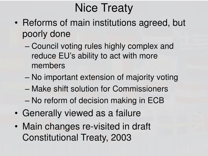 Nice Treaty