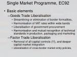 single market programme ec92