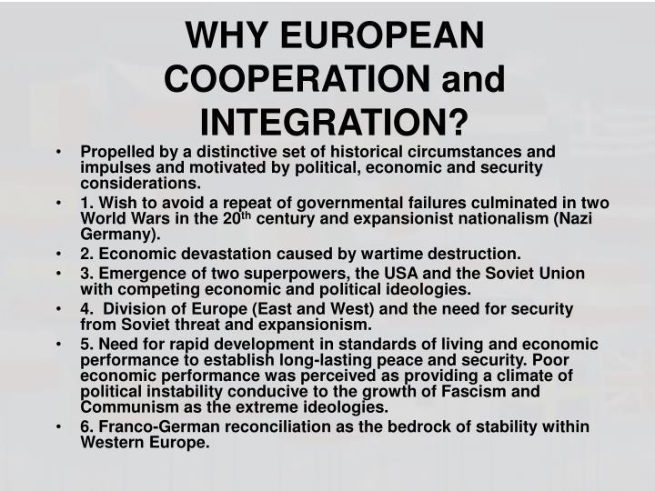 WHY EUROPEAN