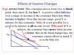 effects of income changes1
