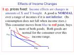 effects of income changes2