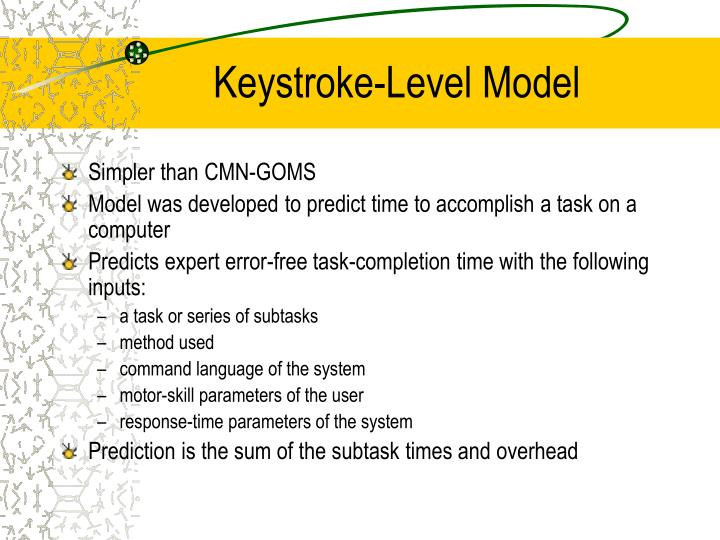 Keystroke-Level Model