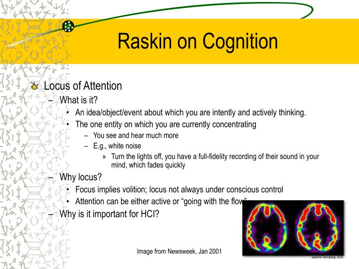 Raskin on Cognition
