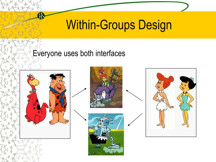 Within-Groups Design