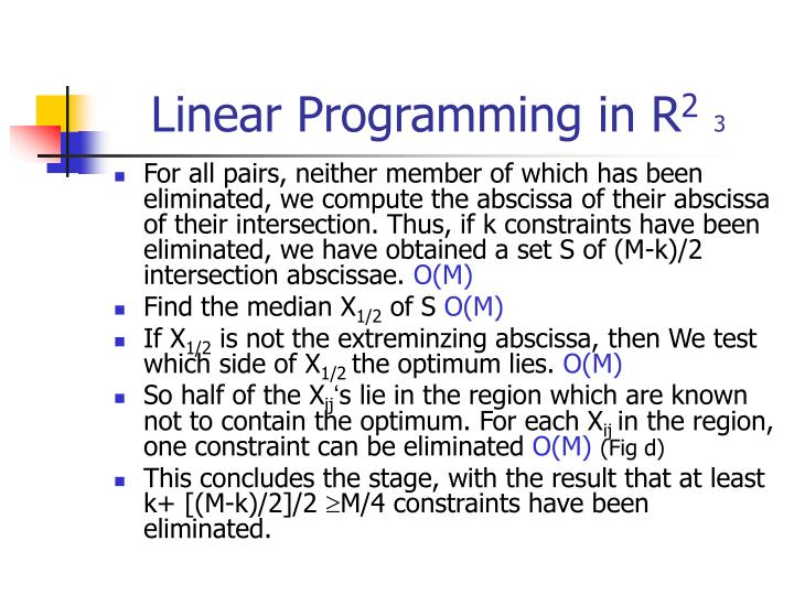 Linear Programming in R