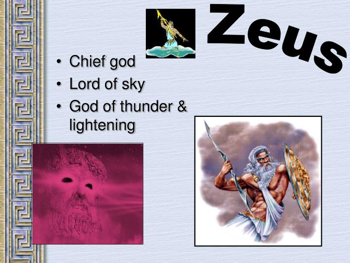 Chief god