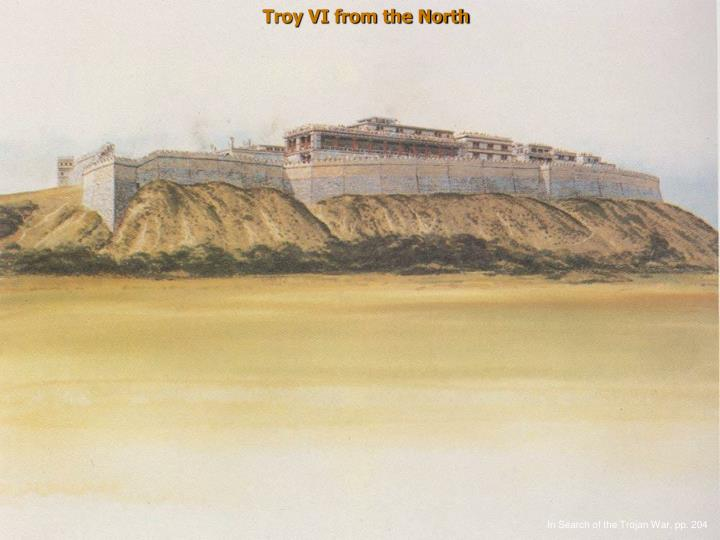Troy VI from the North