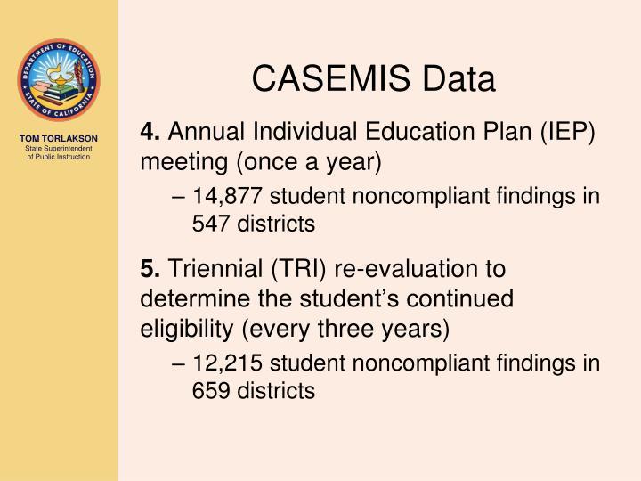 CASEMIS Data