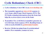 cyclic redundancy check crc