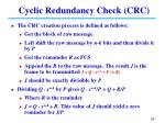 cyclic redundancy check crc2