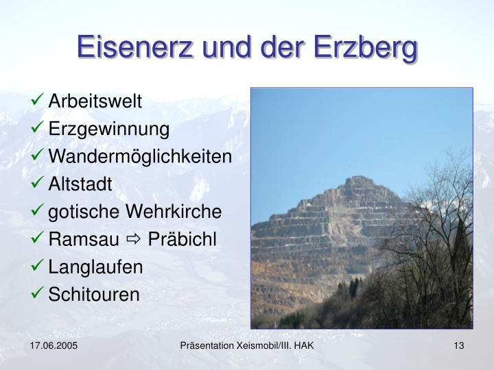 Eisenerz und der Erzberg