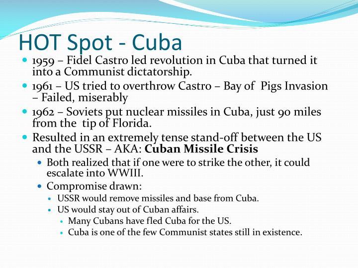 HOT Spot - Cuba