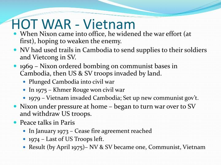 HOT WAR - Vietnam
