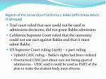 regents of the university of california v bakke affirmative action challenged1