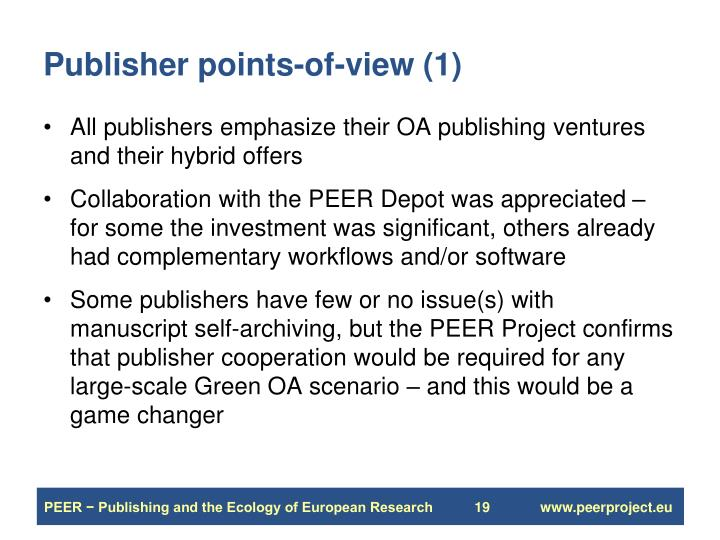Publisher points-of-view (1)