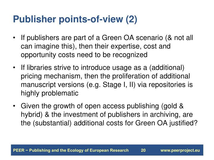 Publisher points-of-view (2)