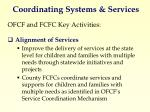coordinating systems services2