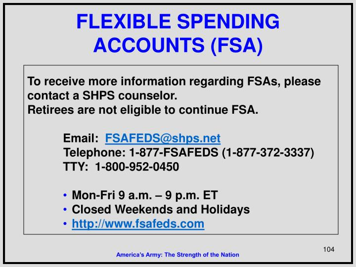 FLEXIBLE SPENDING