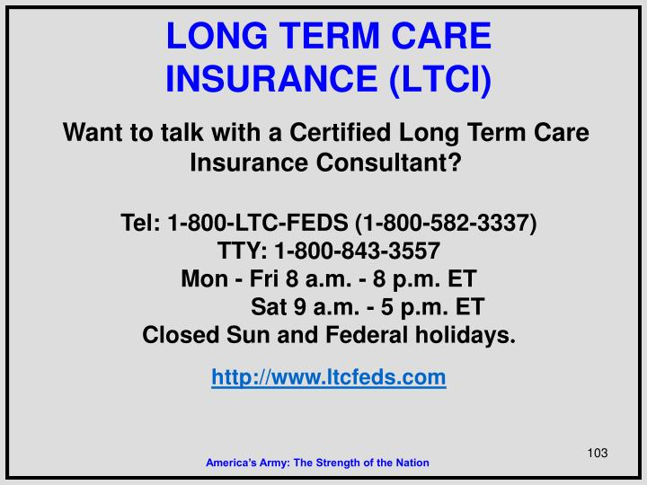 Want to talk with a Certified Long Term Care Insurance Consultant?
