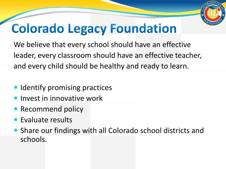Colorado Legacy Foundation