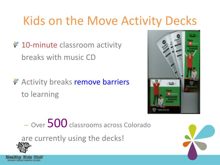 Kids on the Move Activity Decks