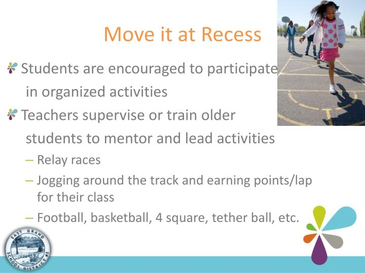 Move it at Recess