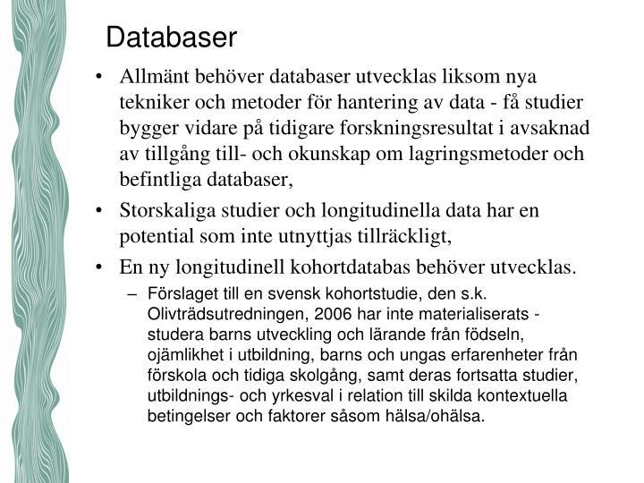 Databaser