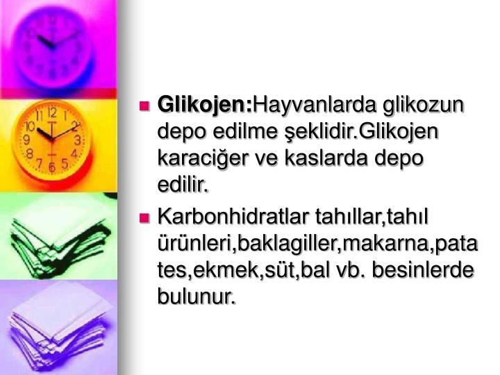Glikojen: