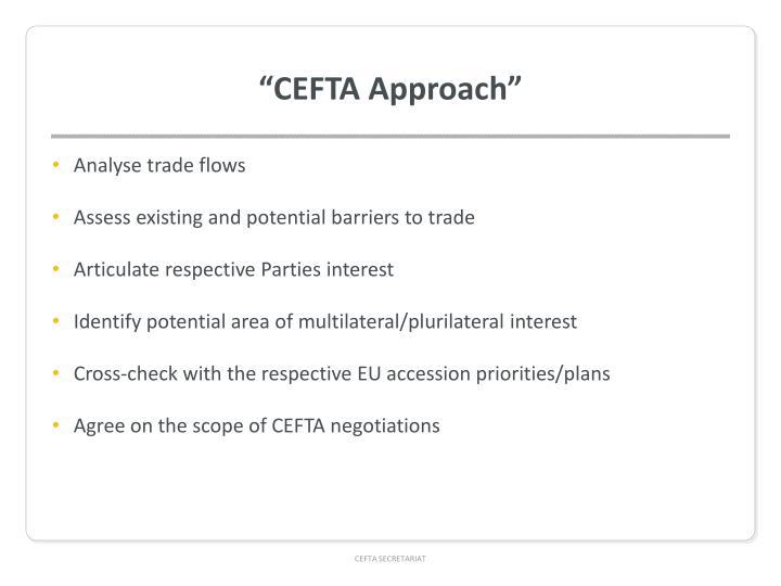 """CEFTA Approach"""