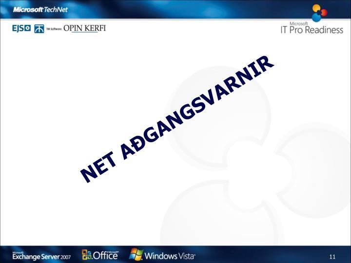 Net aðgangsvarnir