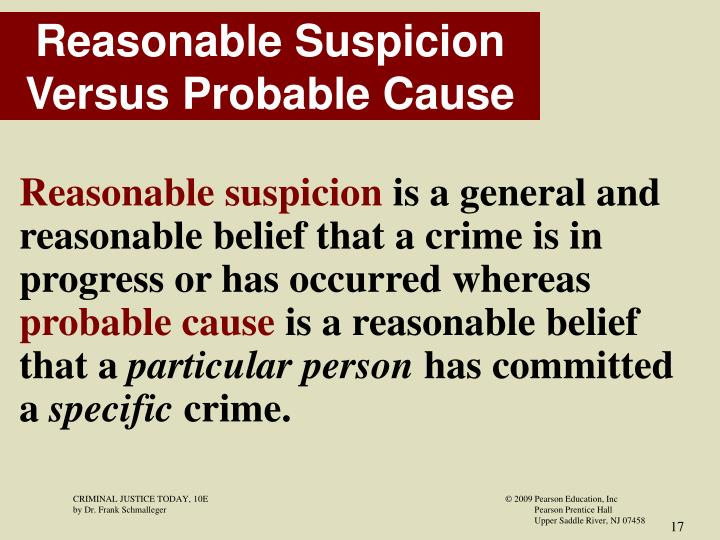 because it's probable reviewing probable cause Majority opinion the court began its discussion with a review of probable cause case law under maryland law, a police officer can arrest a person without a warrant if he has probable cause to believe that felony has been or is being committed by the alleged offender in the officer's presence.
