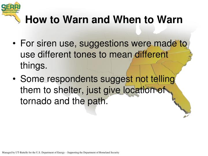 How to Warn and When to Warn