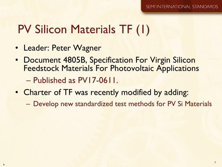 PV Silicon Materials TF (1)