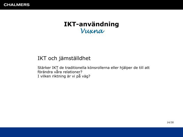IKT-användning