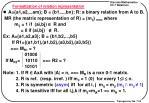 formalization of relation representation