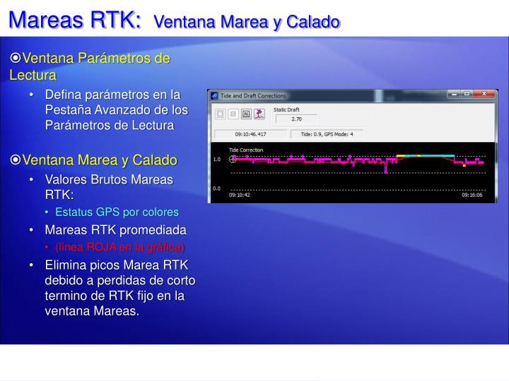 Mareas RTK: