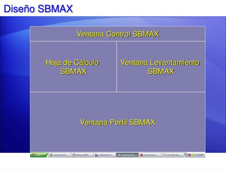 Diseño SBMAX