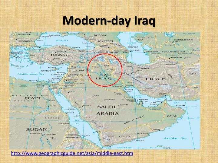 Modern-day Iraq