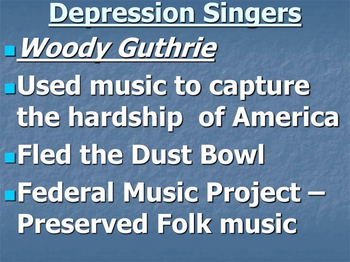 Depression Singers