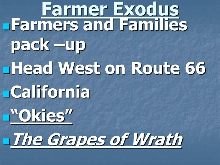 Farmer Exodus
