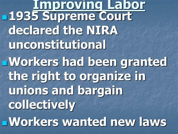 Improving Labor